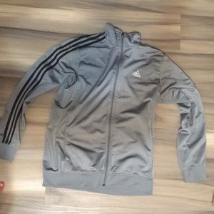 Adidas size large zip up hoodie